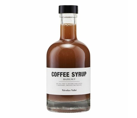 Nicolas Vahé Coffee syrup hazelnut 25cl