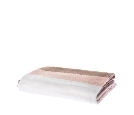 Riverdale Damier flow rose textile 130x160cm