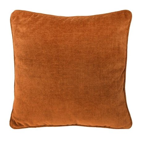 Riverdale Cushion Earth Terracotta textile 45x45cm