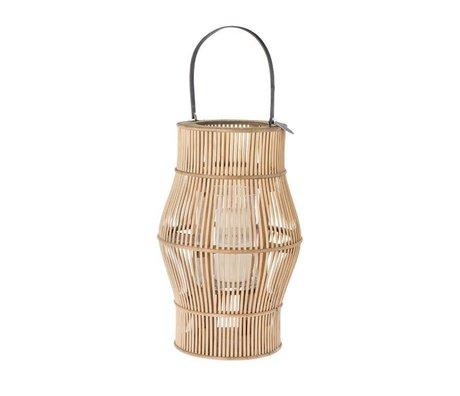 Riverdale Lantern urban brun bambus 50cm