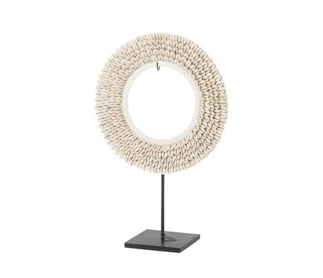 Riverdale Coquille d'ornement beige 30cm