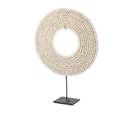 Riverdale Conchiglie di ornamento conchiglie beige 40cm