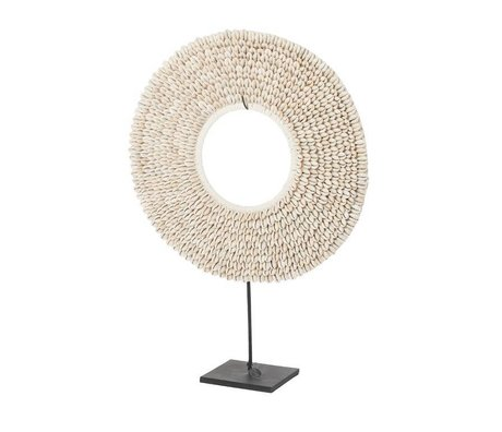 Riverdale Ornament Shells beige Muscheln 40cm