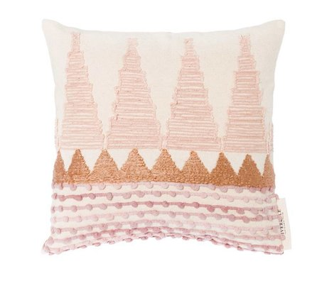 Riverdale Kissen Lilie mehrfarbig Baumwolle 45x45cm