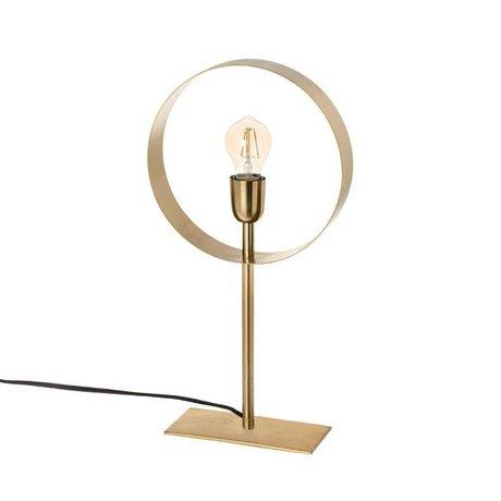 Riverdale Lampada da tavolo Bryce in acciaio oro 49cm