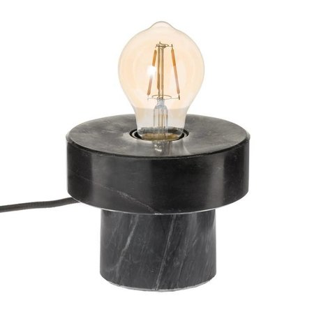Riverdale Table lamp Bryce black marbled 13cm