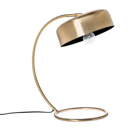 Riverdale Table lamp Bryce gold steel bronze 46cm