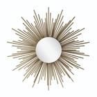 Riverdale Espejo Amaro Sun Gold Metal 4.5x81x81x81cm