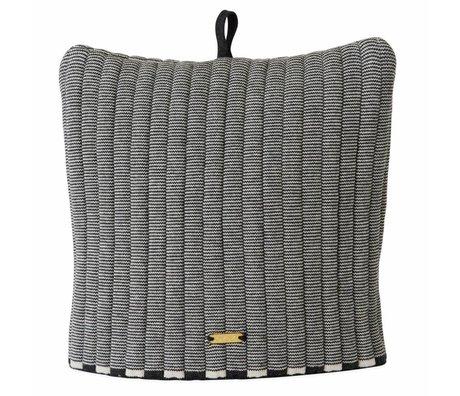 OYOY Tea hat Stringa cuddly from white antranciter cotton 32x30cm