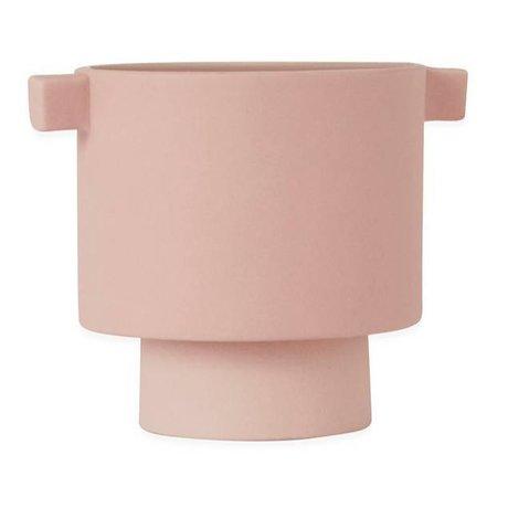 OYOY Pot Inka Kana Pink Pink small ceramic ø10,5x10,5cm