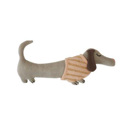 OYOY Cuddly toy Baby Daisy dog cotton 32x15cm