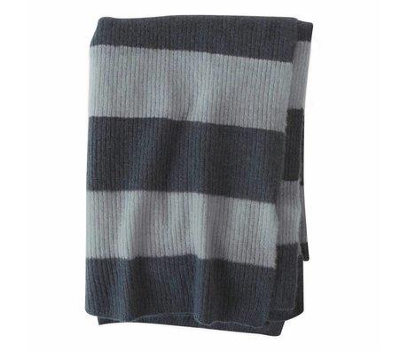 OYOY Damier Sonno Océan Bleu Textile Vert 170x130cm