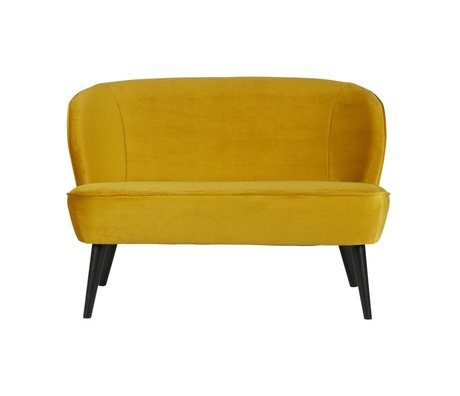 LEF collections Sara kleines sofa samt ocker