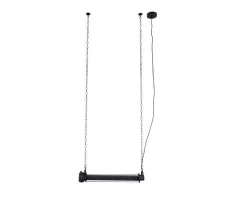 Zuiver Lámpara colgante prime l negro metal 70x13,5x200cm