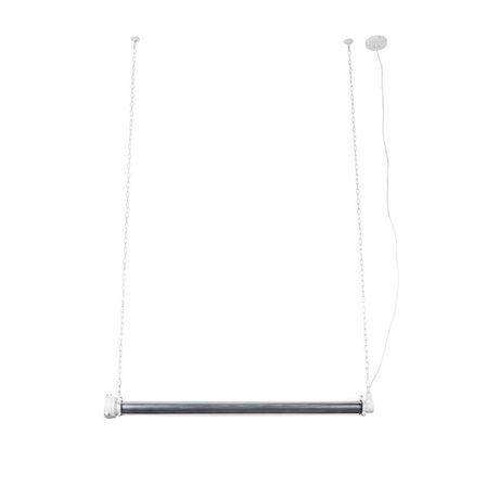 Zuiver Hængelampe Prime xl hvidt metal 130x13,5x200cm