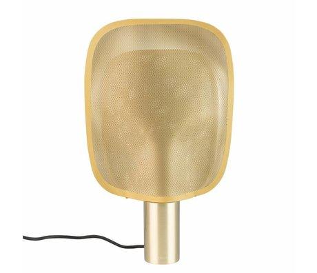 Zuiver lampara de mesa puede m laton oro hierro 33x8x54cm