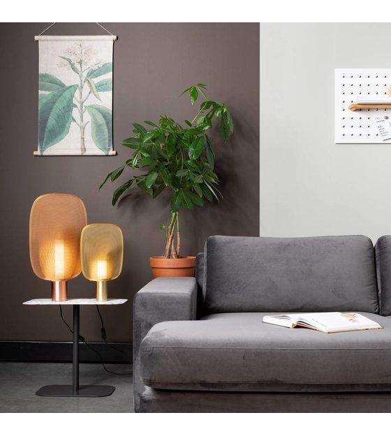 Zuiver lampe de table may s laiton doré fer 24x6x39cm