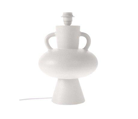 HK-living Basis hvid keramik L Ø24x38cm