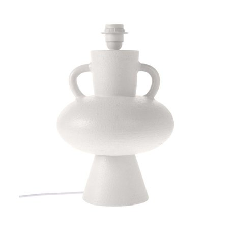 HK-living Sockel weiß aus Keramik L Ø24x38cm