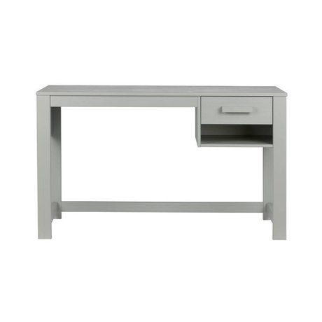 LEF collections Buro Dennis Junior concreto pino gris 125x58x75cm