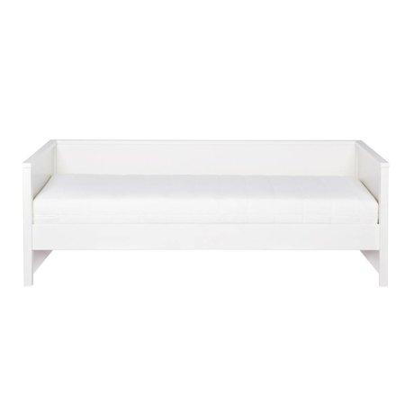 LEF collections Sofá cama Nikki pino blanco 208x100x73cm