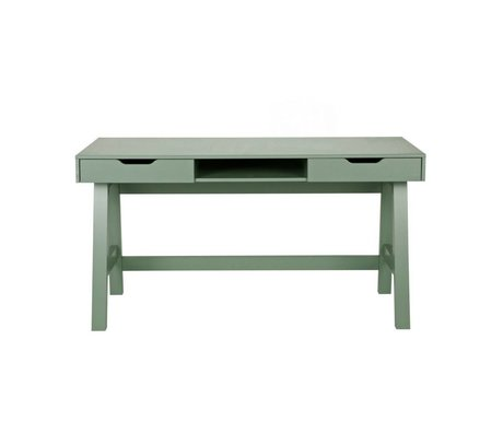 LEF collections Office Nikki Jade green pine 140x62x75cm