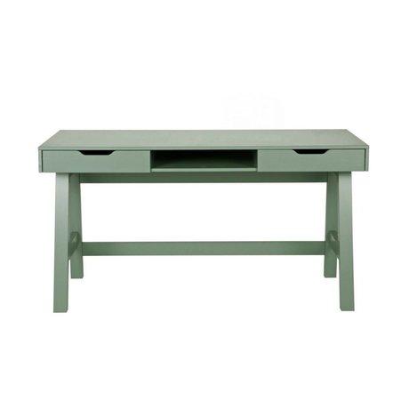 LEF collections Ufficio Nikki Jade verde pino 140x62x75cm