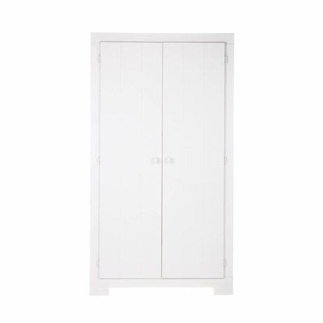 LEF collections Cabinet Nikki pino bianco 110x56x201cm
