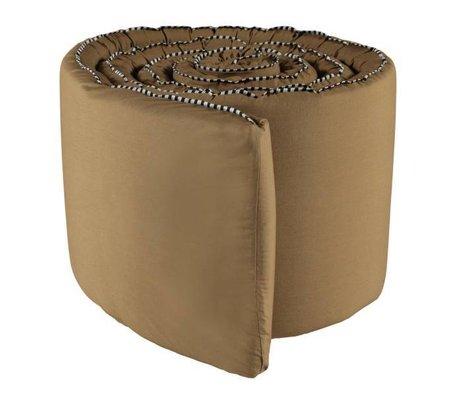 OYOY Parachoques de goma Haikan marrón 350x30x3cm