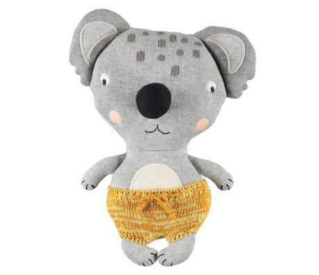 OYOY Juguete de peluche Baby Koala Anton algodón multicolor 26x20cm
