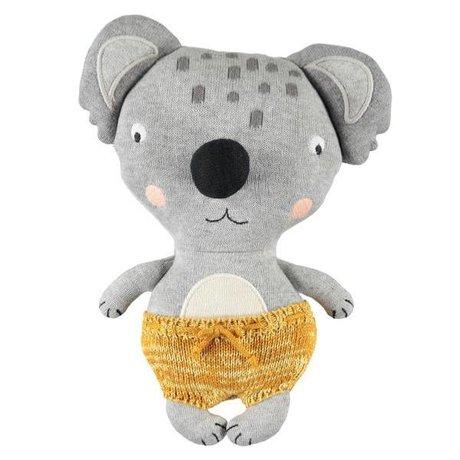 OYOY Cuddly toy Baby Koala Anton multicolored cotton 26x20cm