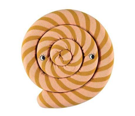 OYOY Pude Lollipop karamel brun ø30cm