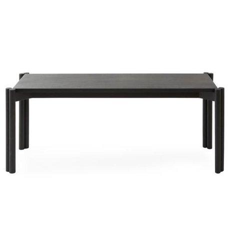 OYOY Banc Pieni en bois noir 106x43x40cm