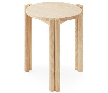 OYOY Stol Pieni naturligt brunt træ 35x35x43cm