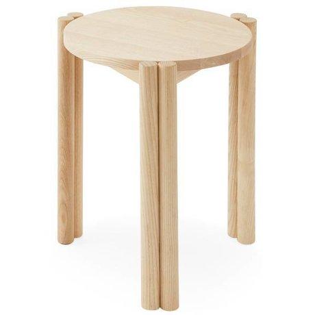 OYOY Stuhl Pieni Naturbraun Holz 35x35x43cm