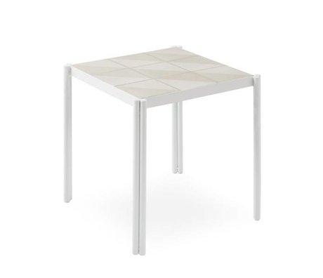 OYOY Tisch Pieni weiß rosa 35x38x38x38cm