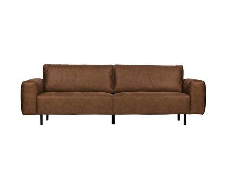 WOOOD Rebound sofa 3-sitzer cognac