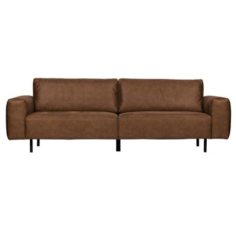 WOOOD Rebound sofa 3-seater cognac