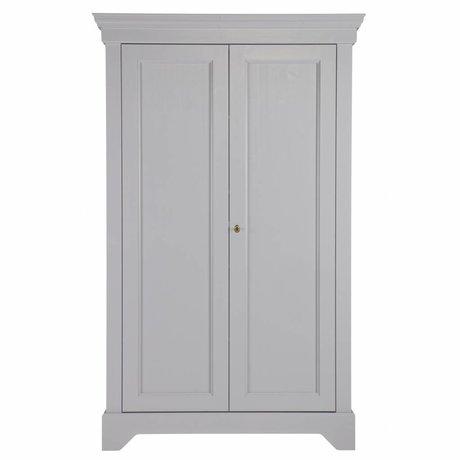 LEF collections Scatola di pino grigio isabel 118x47x191cm