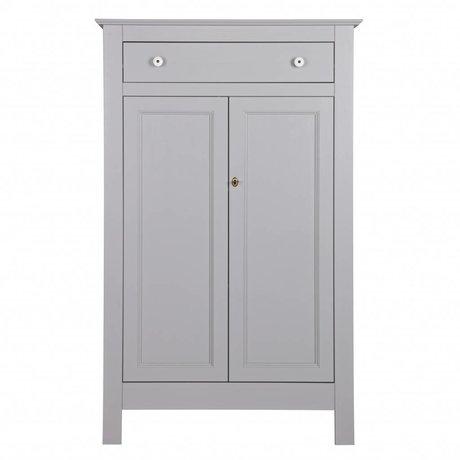 LEF collections Armadio Eva in cemento grigio pino 93x40x150cm