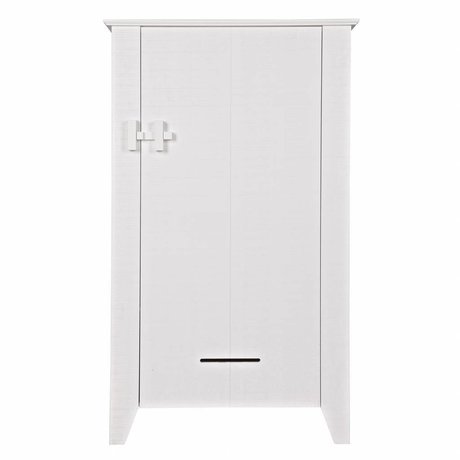LEF collections Cabinet Gijs white sawn pine 85x38x142cm
