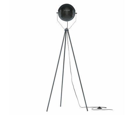 WOOOD Lester gulvlampe metalbeton grå