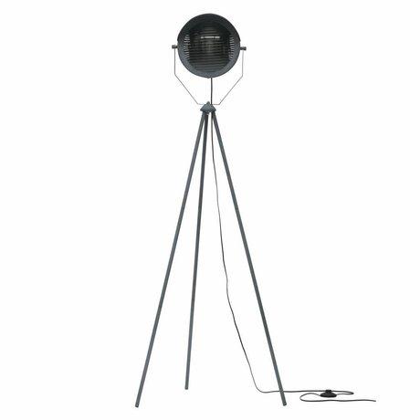 WOOOD Lester lámpara de pie metal hormigón gris