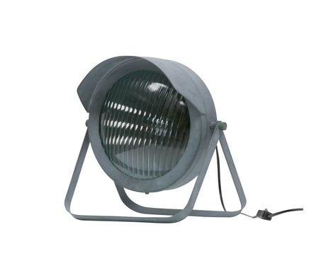 WOOOD Lester table lamp metal concrete gray