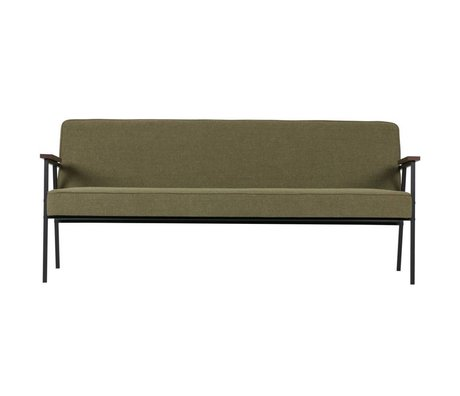 WOOOD Elizabeth sofa olive green