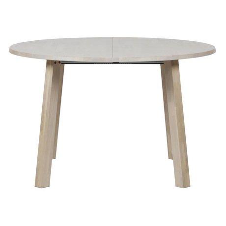 LEF collections Longue table de salle à manger jan ø en chêne sydney