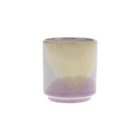 HK-living Mok Gallery flerfarvet keramik Ø7x8cm