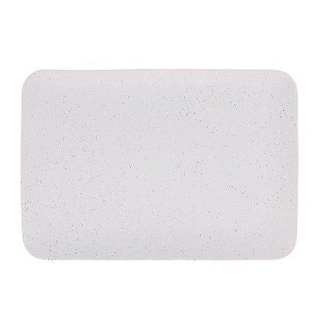 HK-living Vassoio Bold & Basic crema in ceramica 35x24x3cm