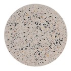 HK-living Dienblad Terrazzo Multicolored concrete terrace L Ø30x1,3cm