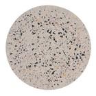 HK-living Terrazzo Dienblad Terrazzo in cemento multicolore L Ø30x1,3cm